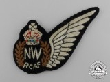 A Royal Canadian Air Force (RCAF) Navigator/Wireless Operator (NW) Wing