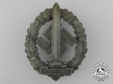An SA Defence Badge for War Disabled by  Werner Redo, Saarlauternc