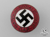 An NSDAP Party Badge by Karl Wurster