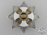 An Italian Order of the Crown; Grand Officer Breast Star by Alberti & Co.