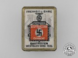 "A 1936 Westfalen District Meeting ""Freedom and Honour"" Badge"