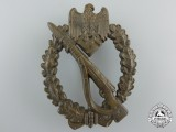A Bronze Grade Infantry Badge by Friedrich Linden