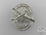 A 1933 First National Socialist Week of Flight Badge by Karl Wurster