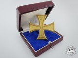 A Mecklenburg-Schwerin Military Merit Cross 1914; 1st Class with Case