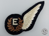 A Royal Air Force (RAF) Engineer (E) Wing