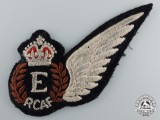 A Second War Uniform Removed Royal Canadian Air Force (RCAF) Engineer (E) Wing