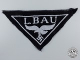 "A Luftwaffe ""L. Bau"" Construction Units Cloth Breast Eagle"