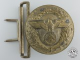 A Belt Buckle for Political Leaders of the NSDAP by Camill Bergmann & Co