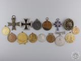 Fifteen Recovered European Awards, Medals, & Badges