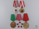 Five Albanian Medals and Awards
