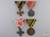 Four Austrian Medals and Awards