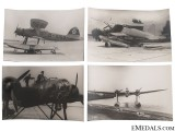 Four WWII Seaplane Photographs