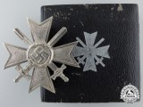 A War Merit Cross First Class with Swords in Case