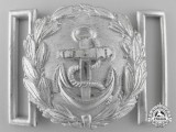 A Kriegsmarine Administrative Official's Belt Buckle; Published Example