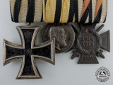 A First War Wurttenberg Medal Bar