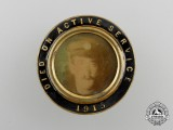 A First War Memorial Sweetheart Pin 1915