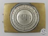 A First War German Imperial Belt Buckle; Reduced Size Version