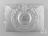 An SS Enlisted Man's Belt Buckle by Unknown Maker; Published Example