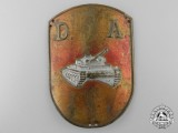 A Spanish Tanker's Sleeve Badge