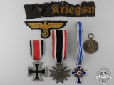 A Lot of Second War German Medals, Awards, & Insignia