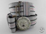 A Rare Initial Pattern RLB Leader's Brocade Dress Belt; Published Example