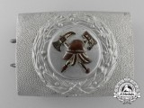 A Weimar Republic Pre-1934 Fire Defence Service Enlisted Man's Belt Buckle