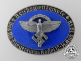A 1938 National Socialist Flying Corps Empire Races of the German Air Corps at Kasel Badge