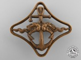 A Second War Italian Navy Cruisers Navigation Badge by R.Dazzi