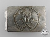 A German Butcher's Trade Belt Buckle