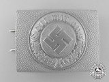 A Mint German Police Enlisted Man's Belt Buckle