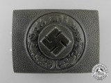 An Police Enlisted Man's/NCO's Belt Buckle by Richard Simm & Sohne