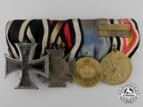 A China Campaign and First War German Medal Bar
