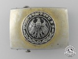 A Weimar Republic Army (Reichsheer) Belt Buckle; Published Example