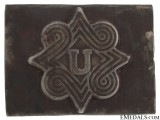 Pavelic's Body Guard Regiment Buckle