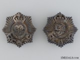 Royal Canadian Army Service Corps (RCASC) Officer's Collar Tab Pair