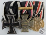 A First War German Marine Combatant Medal Group