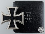 An Iron Cross First Class 1939 by C. F. Zimmermann, Pforzheim
