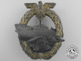 A Second Pattern Kriegsmarine German E-Boat Badge