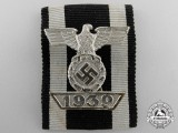 A Clasp to the Iron Cross Second Class 1939; Reduced Size