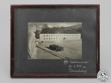 An Framed SS Photograph of the Guard Detachment of the Country House of AH at Obersalzberg