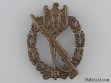 Silver Grade Infantry Badge in Tombac; Unmarked