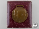A Waldeck Friedrich-Bathildis Medal 1915 with Case