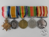 A First & Second War Group  to Reuben Victor Barnard; Royal Field Artillery/Royal Artillery