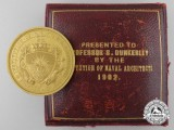 The 1902 Institute of Naval Architects Gold Medal to Professor S. Dunkerley