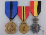 Three Belgian Medals and Awards