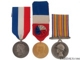 Three French Honour Medals