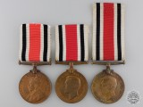 Three Special Constabulary Long Service Medals