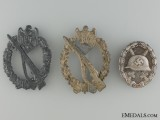 Three Third Reich German Badges