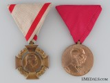 Two First War Period Austrian Medals