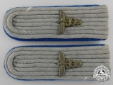 A German Army Medical Administration Shoulder Boards